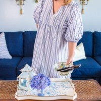 Get the Look of My Blue & White Living Space