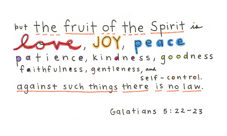 Galatians 5 22 23 Today S Bible Verse