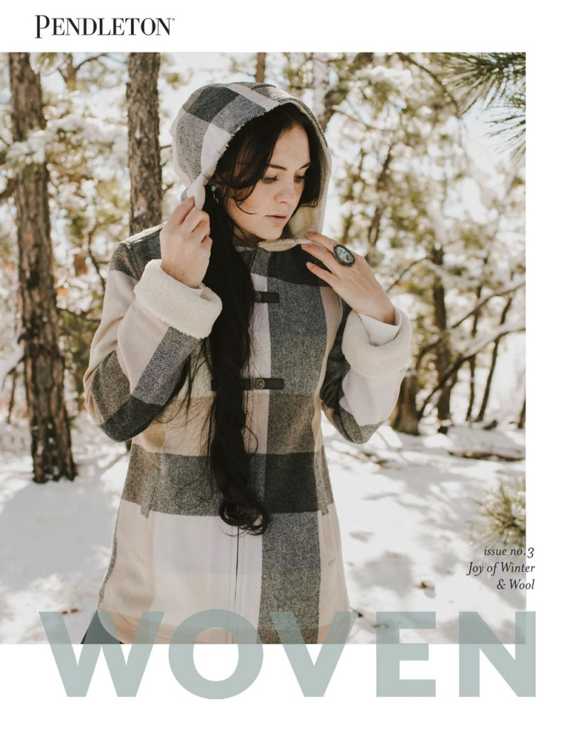 WOVEN - Issue No. 3 - Winter and Wool Winter 2018