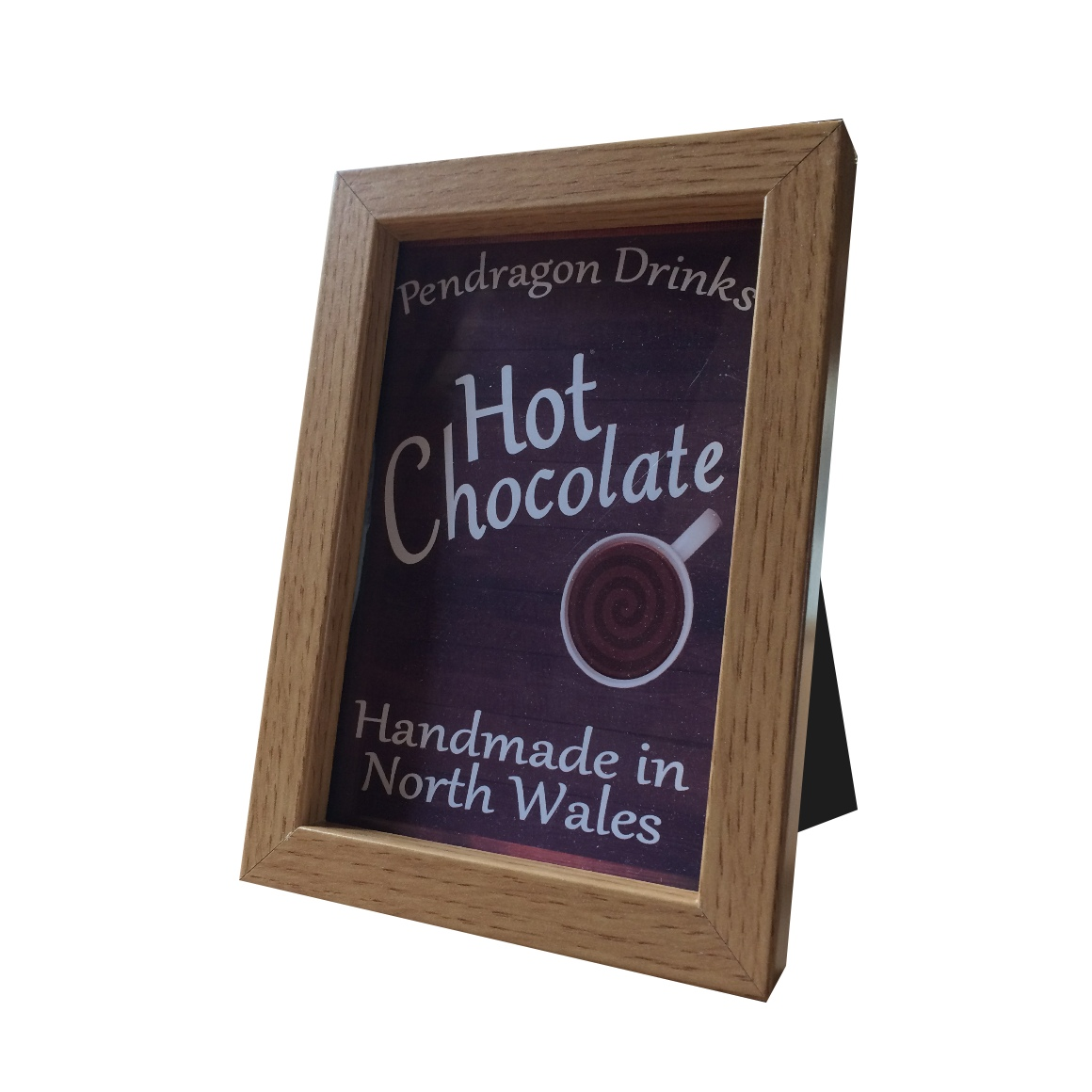pendragon drinks display, catering hot chocolate