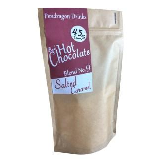 salted caramel hot chocolate, fudge hot chocolate, welsh hot chocolate, artisan hot chocolate