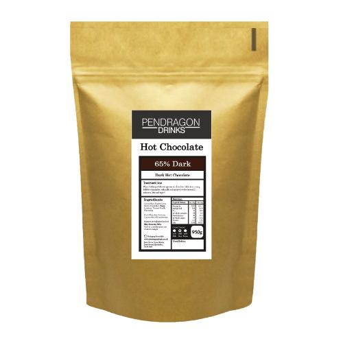 dark hot chocolate flakes 1kg