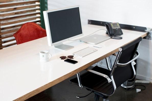 Wood Slat Office