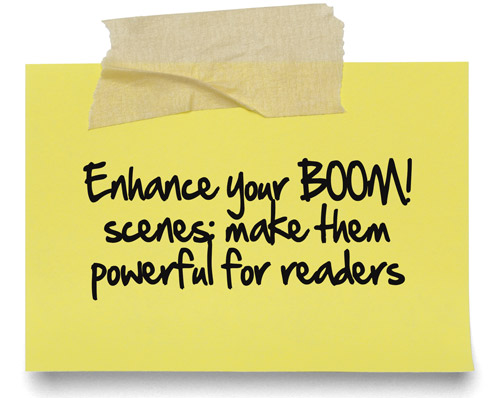 Enhance your BOOM! scenes: make them powerful for readers