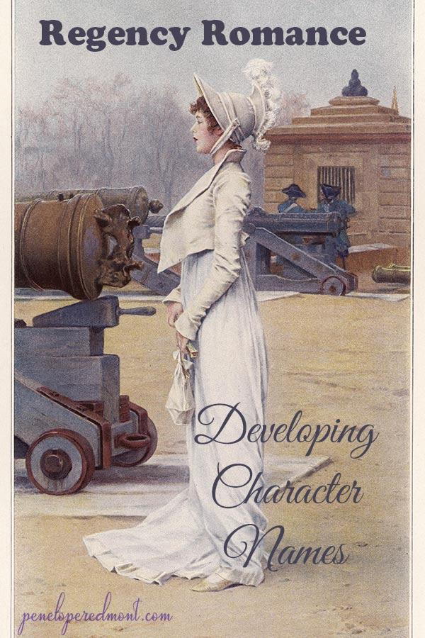 Regency Romance: Developing Character Names