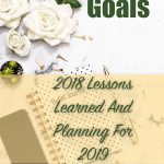 Goals: 2018 Lessons Learned And Planning For 2019