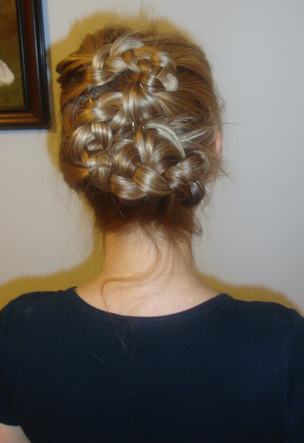 Romantic Renaissance Braids Updo Beauty Penelopes Oasis