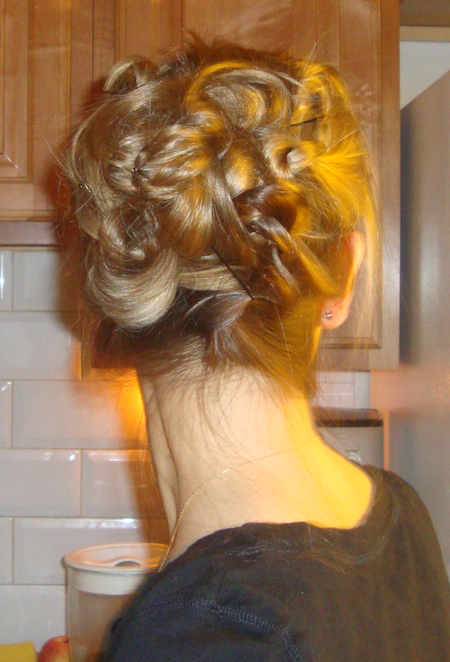 The Knotted Updo Hair Style Tutorial  Penelopes Oasis