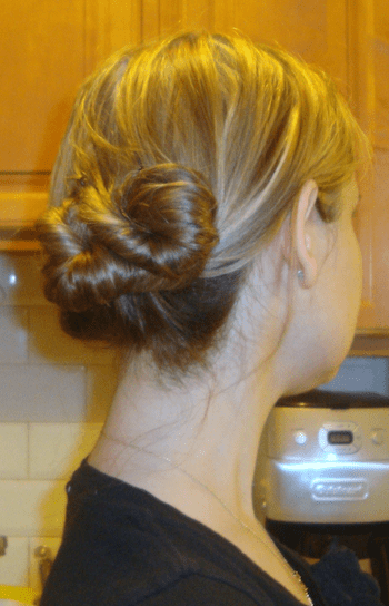 The Twisted Updo Hairstyle Tutorial  Penelopes Oasis