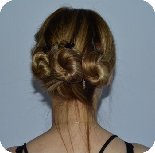 Triple Bun Twist Hair Tutorial Beauty Penelopes Oasis