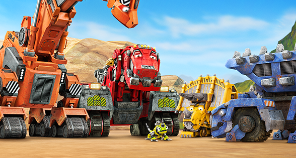 cost of new kitchen non slip shoes dinosaurs + trucks = dinotrux, the next hit show for kids ...