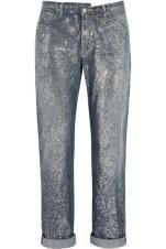Golden Goose Delux Brand - Karly Glittered Mid Rise Boyfriend Jeans $602