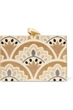 Kotur - Simone Merrick Glittered Perspex Box Clutch $1,204