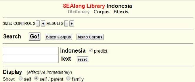 kamus online bahasa inggris Alan Stevens