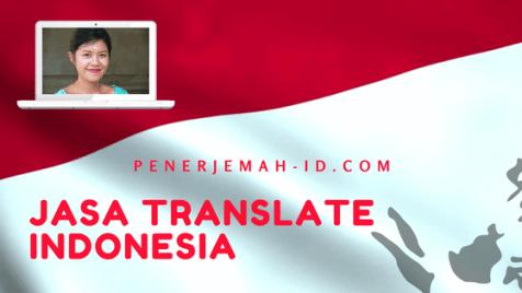 jasa translate indonesia