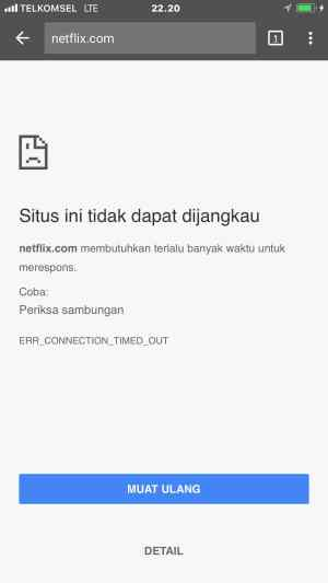 Netflix IndiHome Blokir