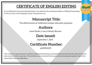 CONTOH CERTIFICATE OF PROOFREADING