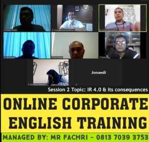 les kursus bahasa inggris online lewat zoom