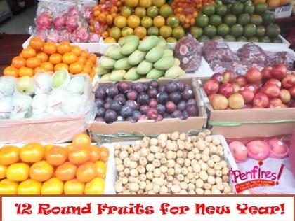 12 round fruits sa bagong taon palihi