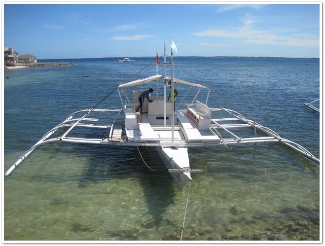 Bohol Island Hopping Boat Rental