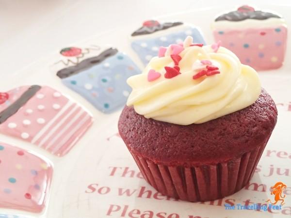Phoebe's Cupcakery Red Velvet Cupcake