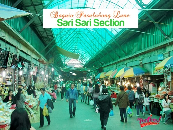 Baguio Public Market Pasalubong Area