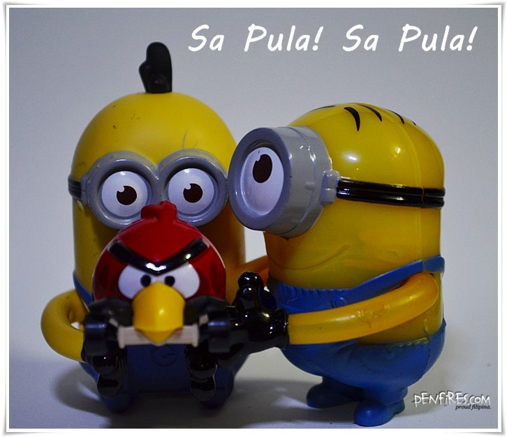 Happy Meal Minions Dispecable Me