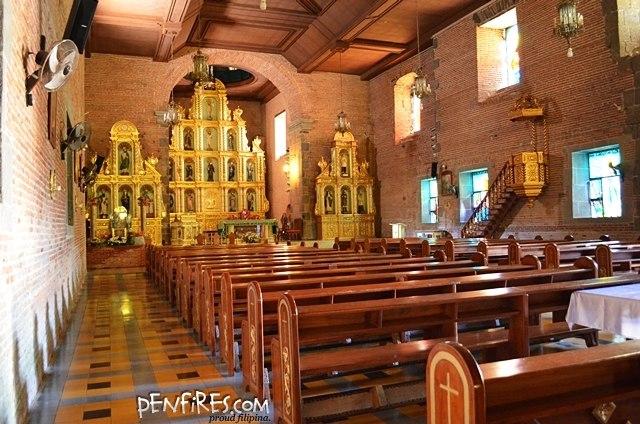 Inside Liliw Church