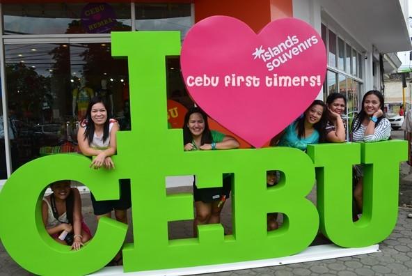 I Love Cebu Marker