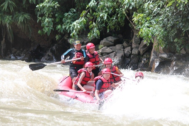 Kiulu River white water rafting