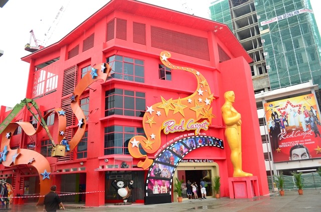red carpet wax museum i-city shah alam