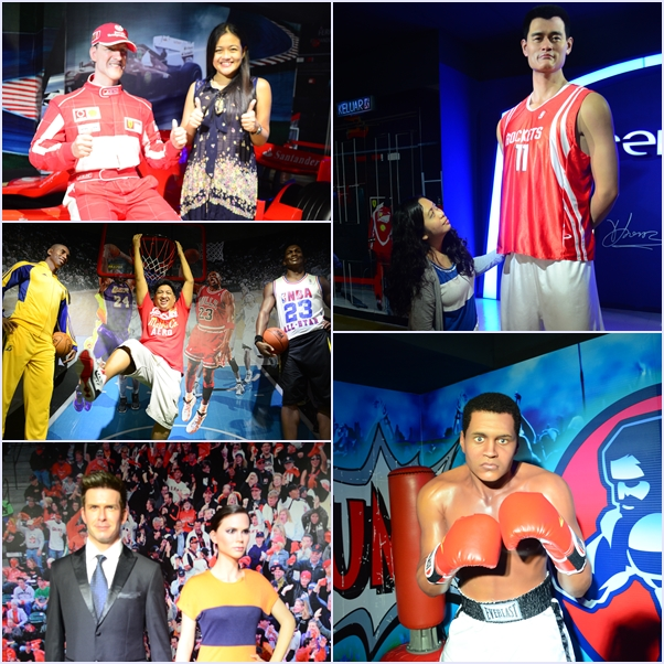 sports icon wax museum