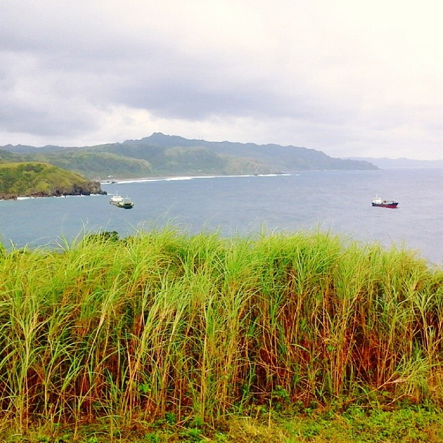 boats in windy cold batanes