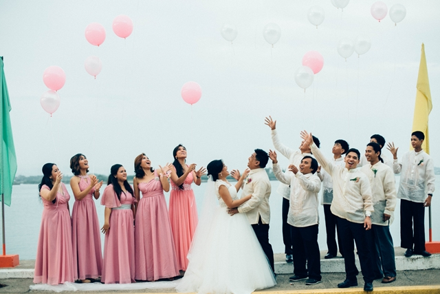 Cebu Wedding Post Nup Mactan Bridge