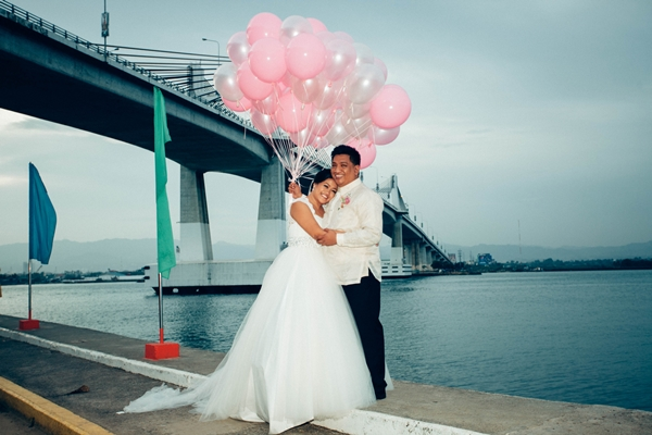Cebu Wedding Post Nup Marcelo Fernan Bridge