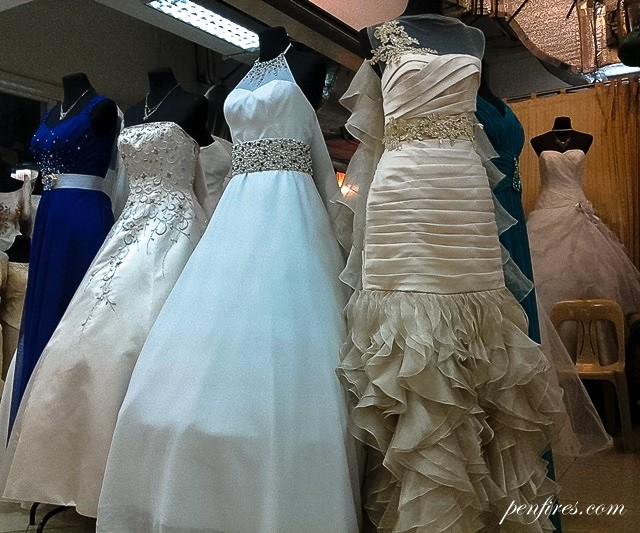 Divisoria bridal gowns