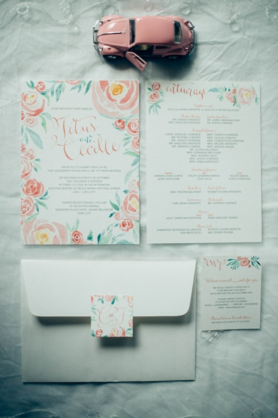 Forever Afternoon Wedding Invitation Cebu