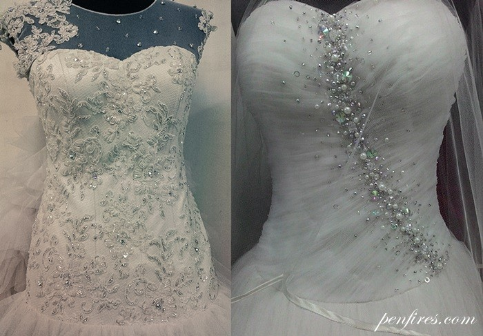 Made in Divisoria: My Wedding Gown and Entourage Dresses ~ ONE HAPPY ...