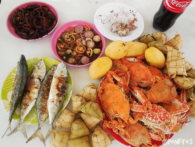 Cheap Seafood in Bantayan Island