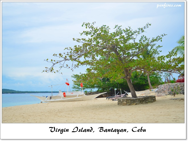 Island Hopping to Virgin Island of Bantayan Cebu