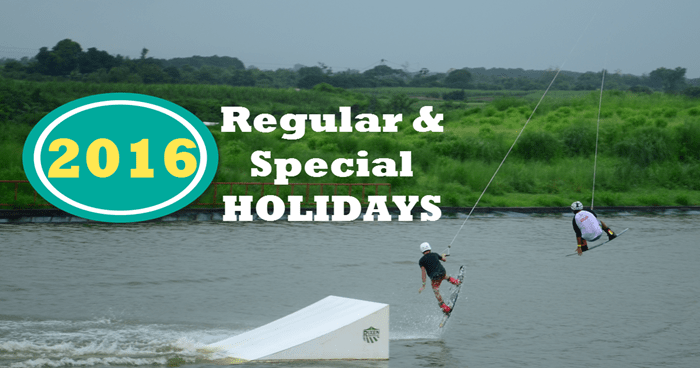Malacanang Declared the 2016 Holidays – List of Regular and Special Holidays in the Philippines