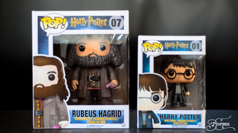 Funko Pop Hagrid and Harry Potter