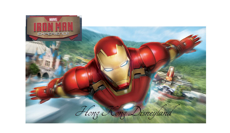 Iron Man Experience in Hong Kong Disneyland 2017