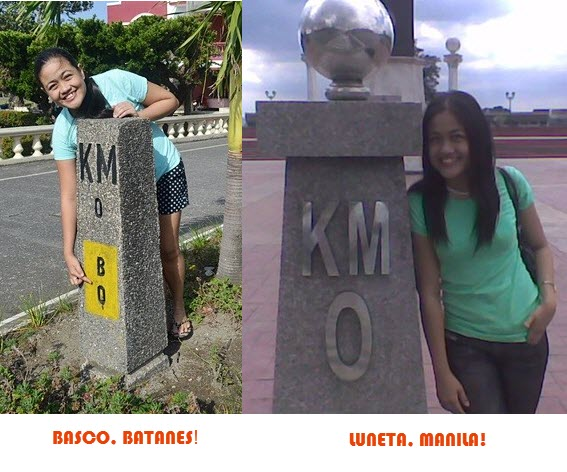 Where are the Kilometer 0s in the Philippines?