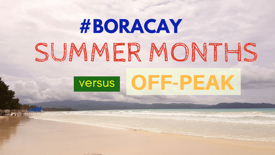 boracay advantages summer versus off peak visit