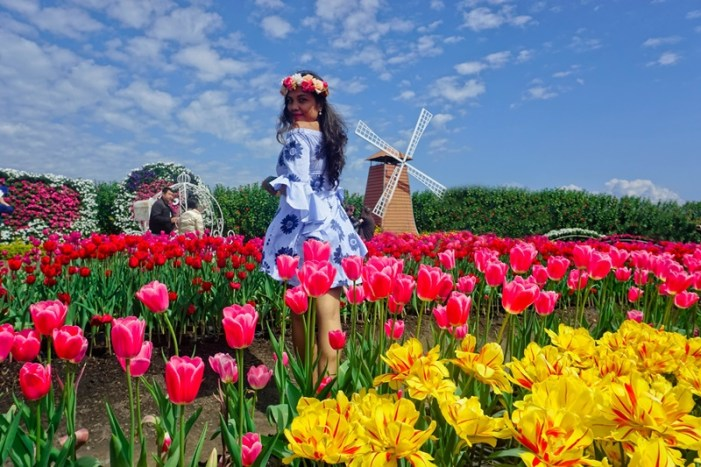 taichung flower farm photoshoot