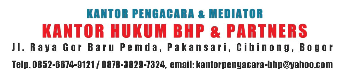 Kantor Pengacara Jabodetabek (BHP & Partners)