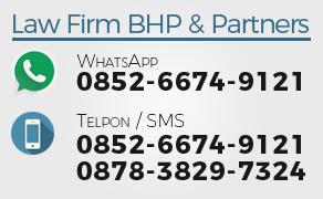 Kantor Pengacara / Advokat / Lawyers di Cibinong, Bogor, Depok (Kantor Pengacara BHP & Partners)
