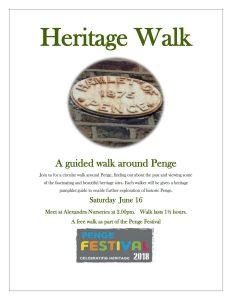 Penge Heritage Walk 2018