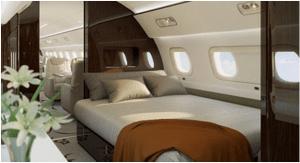 Kemegahan Embraer Lineage 1000E